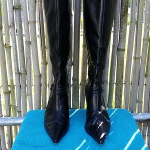 Antonio Melani Knee High Black Boots 7.5